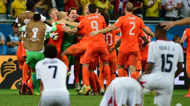Les Pays-Bas ont attendu Krul et les tirs au but pour sortir le grand jeu