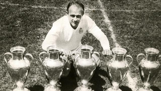 Di Stefano, l'emblème du Real Madrid, son premier galactique
