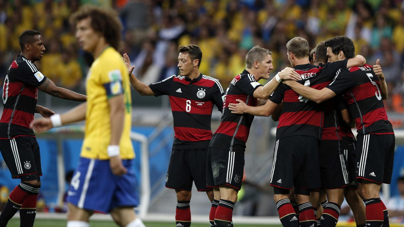 L 39 allemagne humilie le br sil 7 1 record en demi finale et jouera la finale coupe du monde - Record coupe du monde football ...
