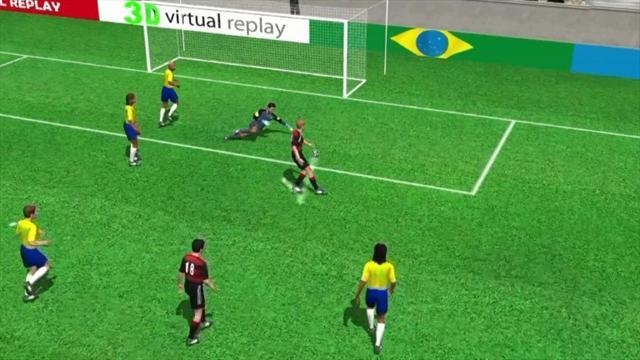 3D goal: Miroslav Klose for Germany