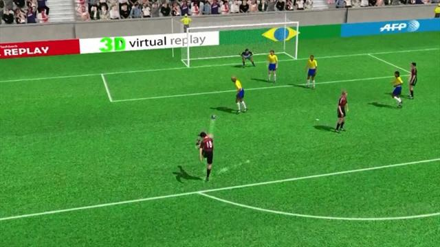 3D goal: Toni Kroos' first for Germany