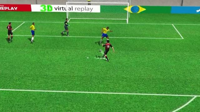 3D goal: Toni Kroos' second for Germany