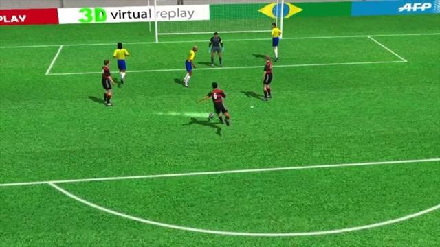 3D goal: Sami Khedira for Germany