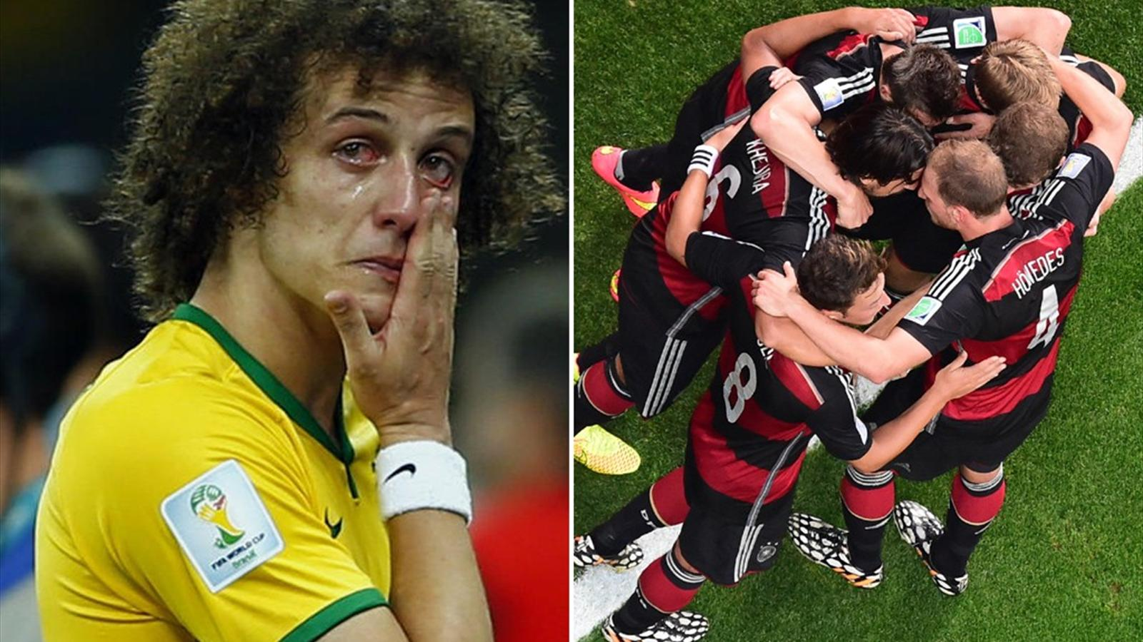 Germany tear Brazil to pieces in unforgettable semi-final