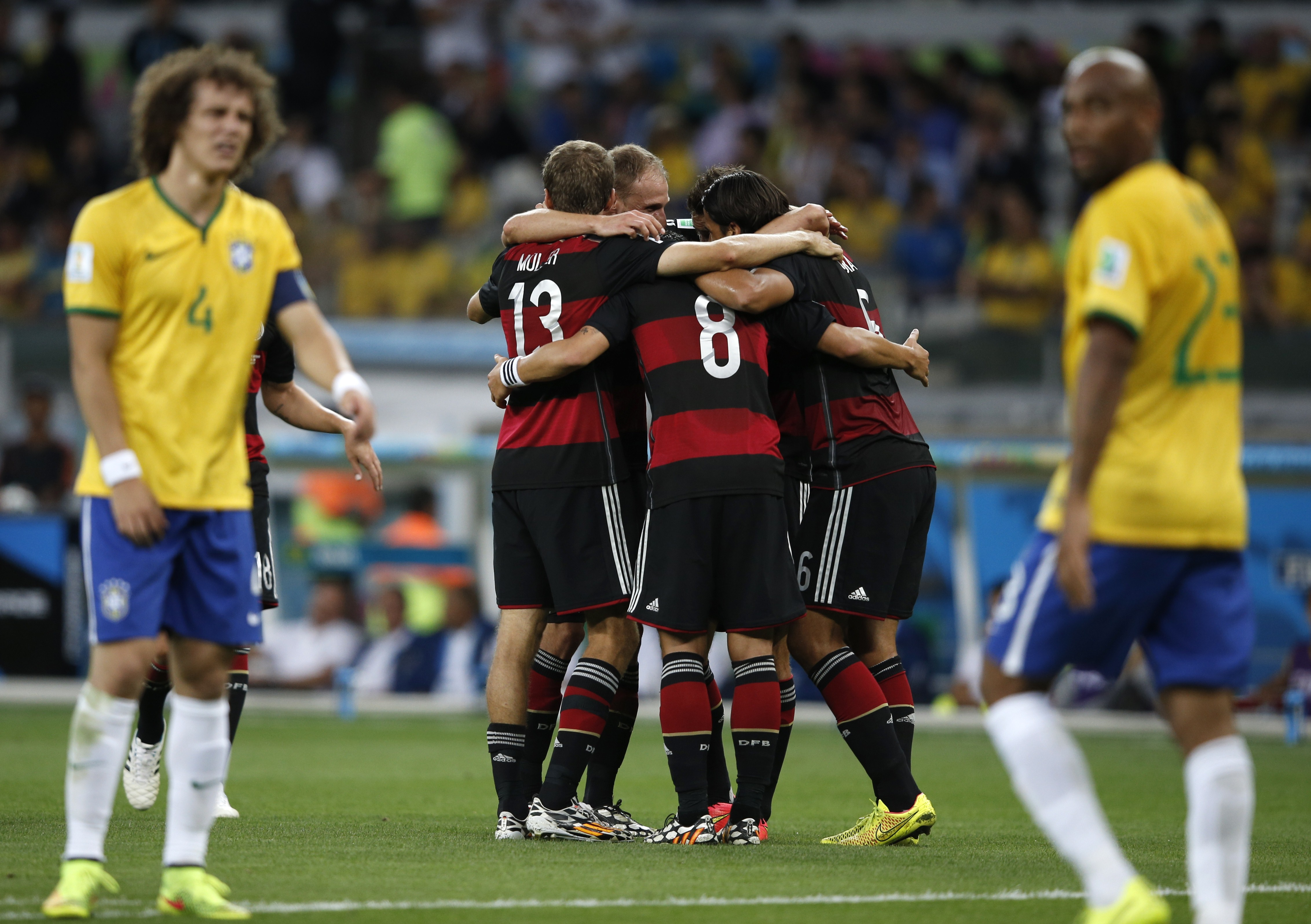 Германия vs Бразилия, 7:1