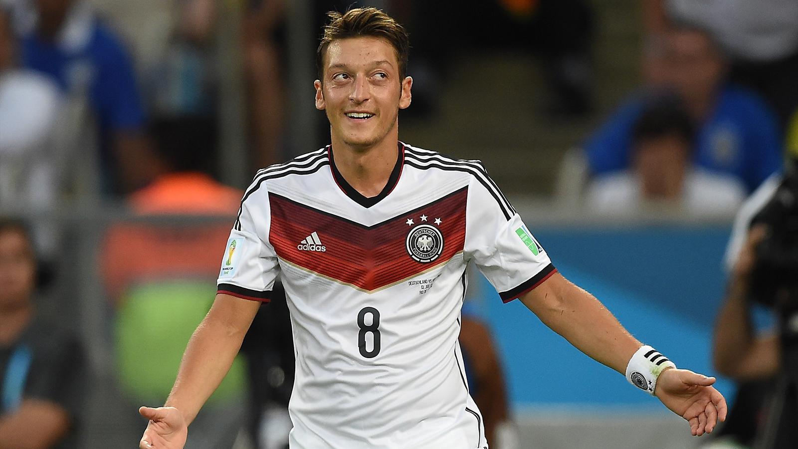 Mesut Özil lors de la finale Allemagne - Argentine