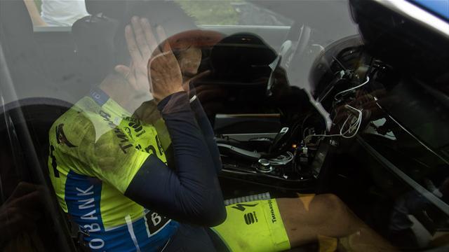 Chute, vélo cassé, fracture : Le calvaire d'Alberto Contador en 15 photos