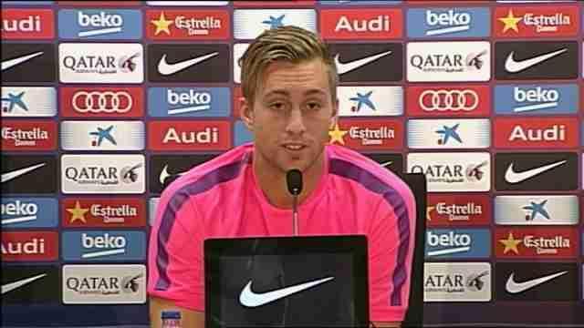 Barça trains and welcomes back forward Gerard Deulofeu