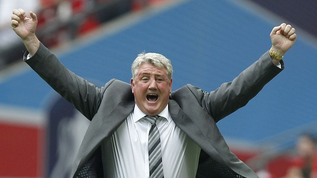 Steve Bruce's Hull made it into Europe after he guided them to the 2014 FA Cup final