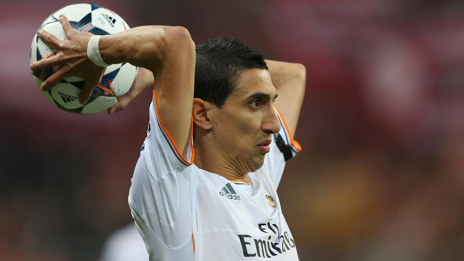 Transferts Angel Di Maria Real Madrid Au Psg La Solution Du