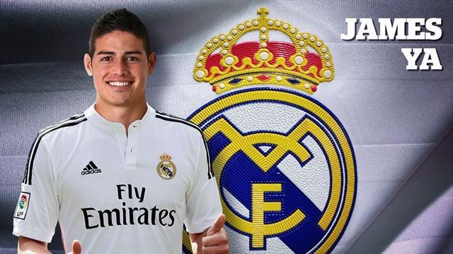 James Rodriguez, la dernière folie du Real Madrid à 80 millions d'euros