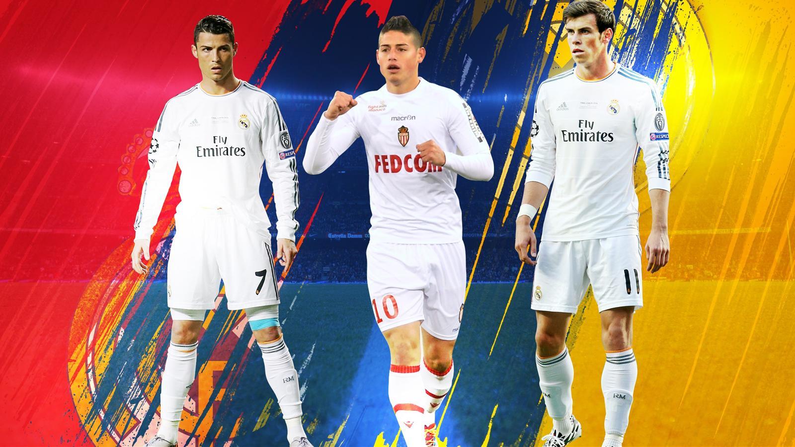 Cristiano Ronaldo, James Rodriguez et Gareth Bale joueront ensemble au Real Madrid