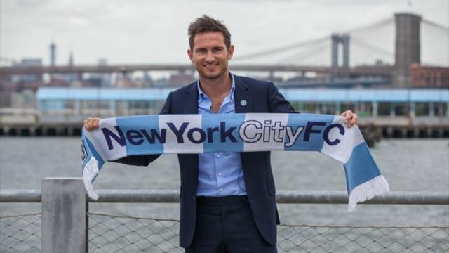 Frank Lampard Manchester City'e kiralandı
