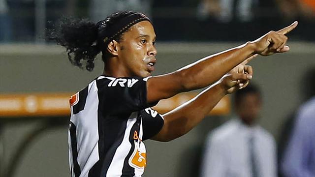 Ronaldinho to reveal next port of call after leaving Atletico Mineiro