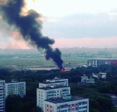 Чемпионат россии пожар произошел