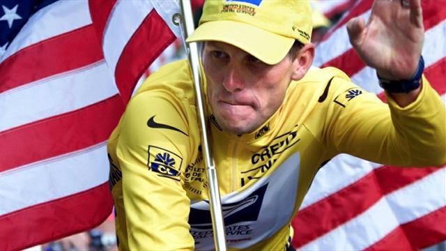 """""""Cógeme si puedes"""", la dedicatoria más surrealista de Lance Armstrong a la agencia antidopaje"""