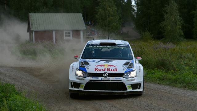 Latvala extends Rally Finland lead