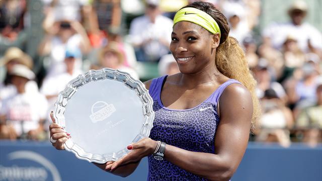 Serena geri döndü