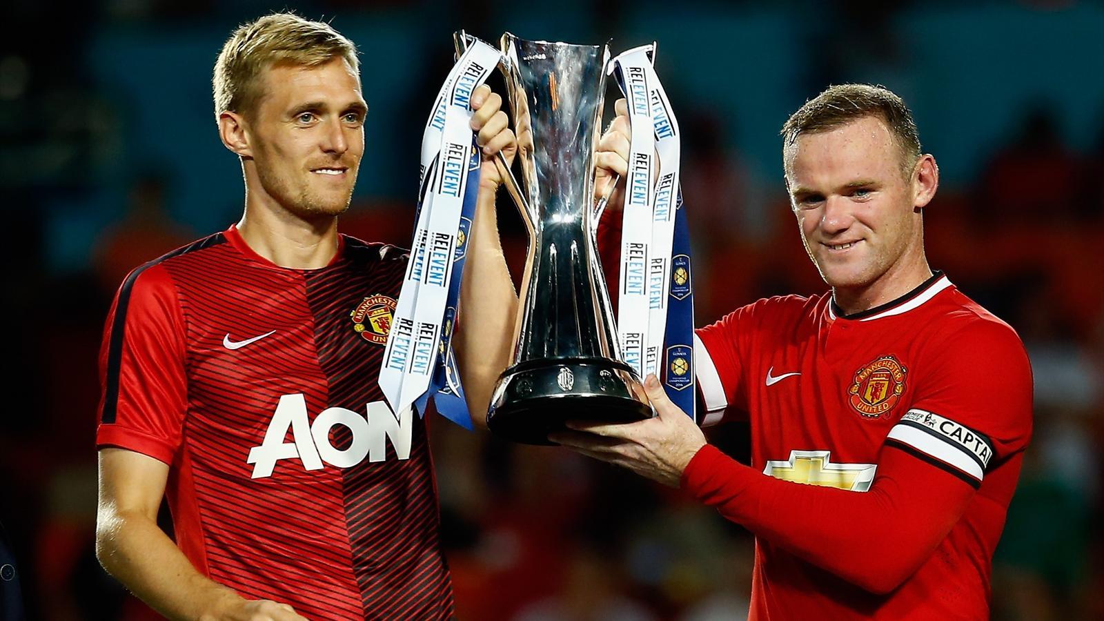 2014, Manchester United, Darren Fletcher, Wayne Rooney (AFP)