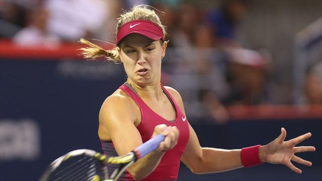 Tennis : Bouchard �limin�e d'entr�e de jeu
