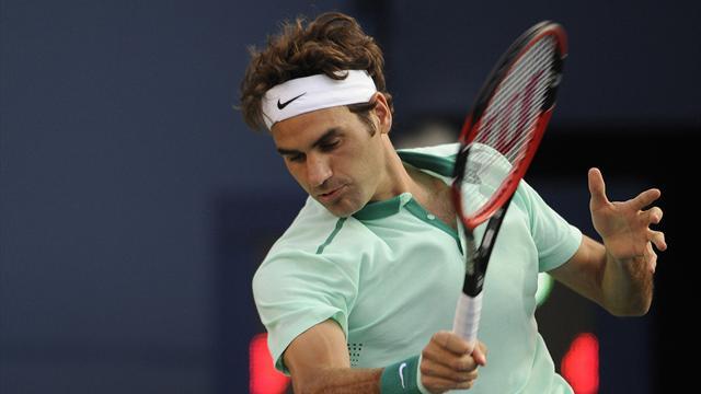 Tennis : Federer en mode express pour sa rentr�e