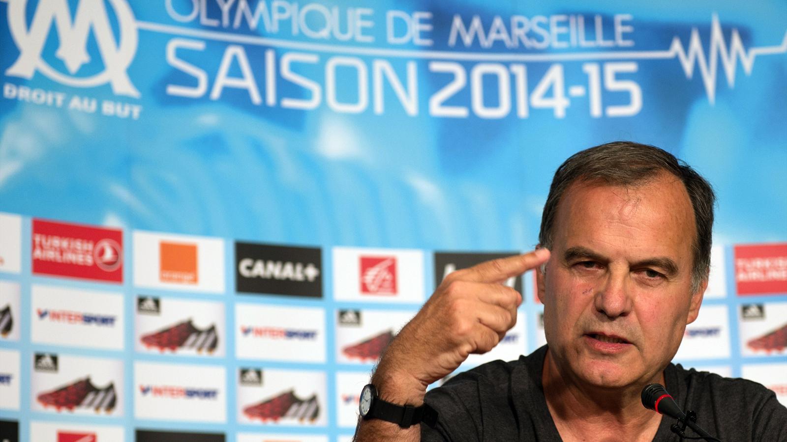 Marcelo Bielsa est sorti du silence pour la première fois depuis son arrivée à Marseille