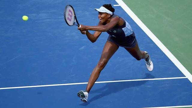 Venus falls at first hurdle in Cincinnati