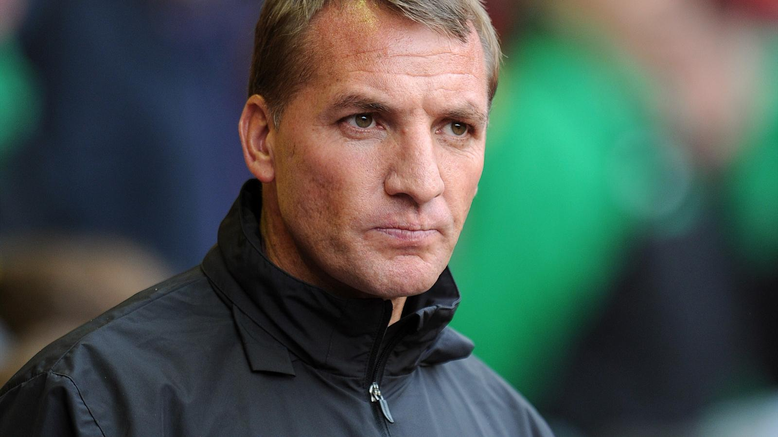 Brendan Rodgers manager of Liverpool during the Pre Season Friendly match between Liverpool and Borussia Dortmund at Anfield