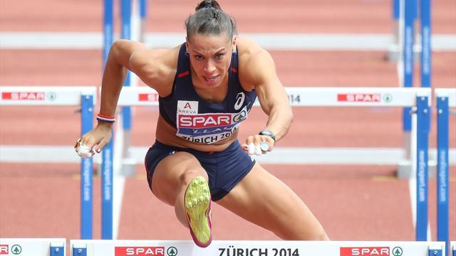 Billaud en finale du 100m haies
