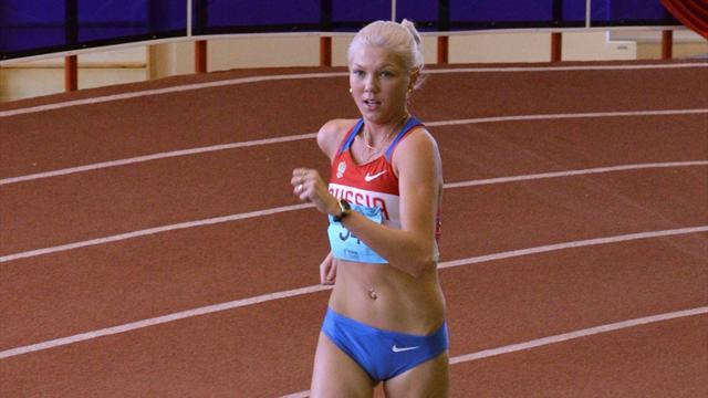 Алембекова завоевала золото на дистанции 20 км
