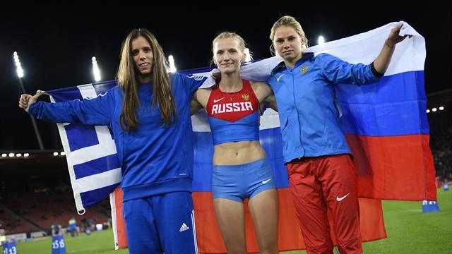 Сидорова – чемпионка Европы в прыжках с шестом