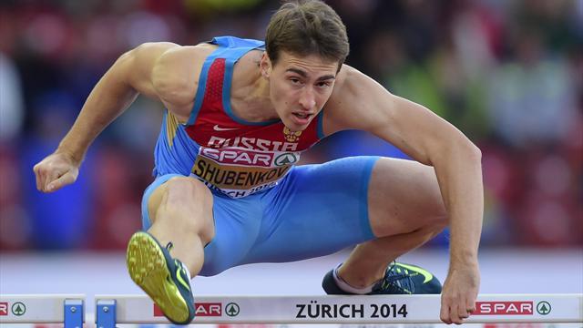 Шубенков стал трехкратным чемпионом Европы
