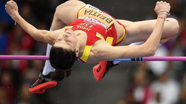 Ruth Beitia se mete en su enésima final de salto de altura