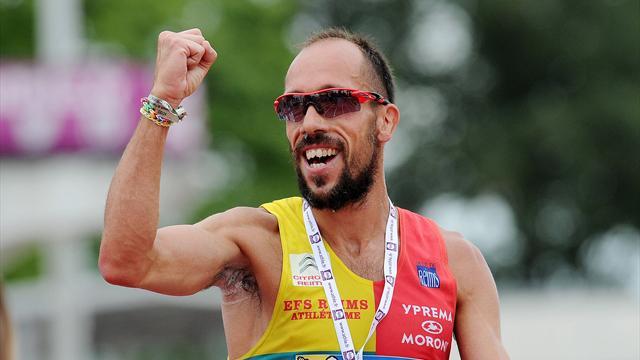 Диниз выиграл золото на дистанции 50 км с мировым рекордом