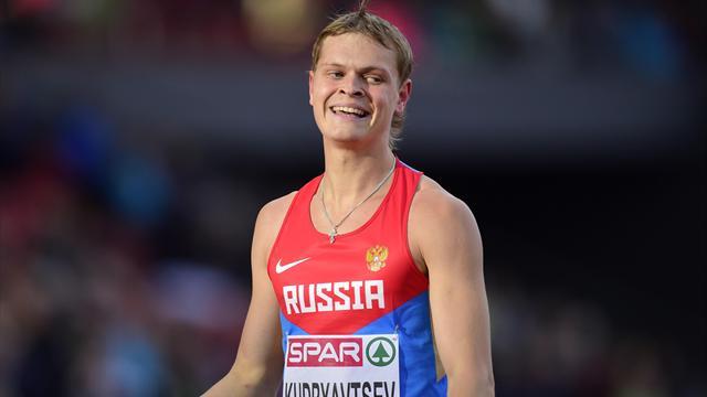 Кудрявцев завоевал бронзу в беге на 400 метров с барьерами