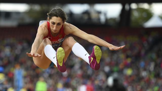Конева завоевала серебро в тройном прыжке, Гуменюк – бронзу