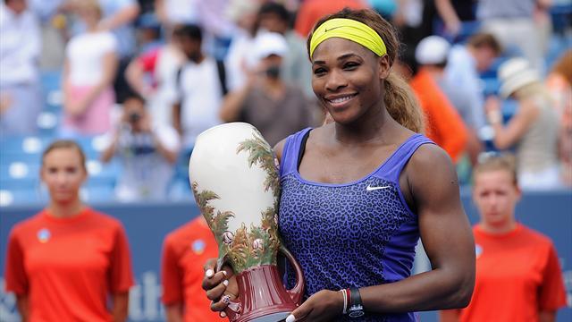 Avant l'US Open, Serena Williams annonce la couleur
