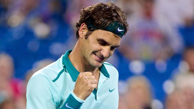 Federer renoue enfin avec une vieille habitude
