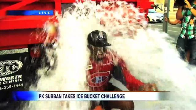 Суббана облили ледяной водой из грузовика