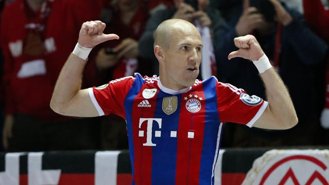 Robben doubtful for season opener against Wolfsburg