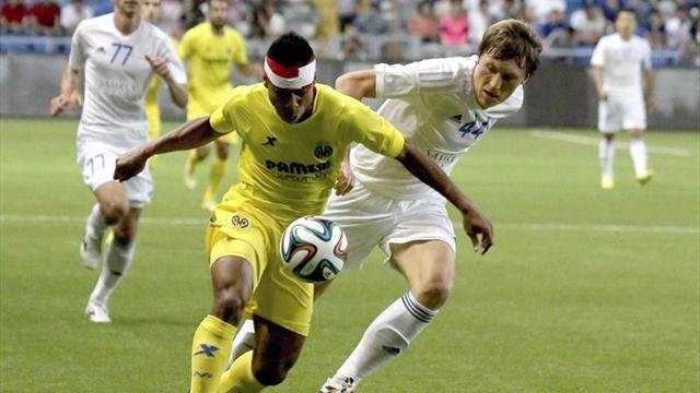 Astana-Villarreal: Eliminatoria sentenciada (0-3)