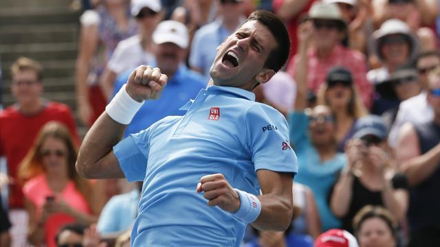 Tennis : M�me sans r�ussite depuis Wimbledon, Djokovic ne c�de pas � la panique