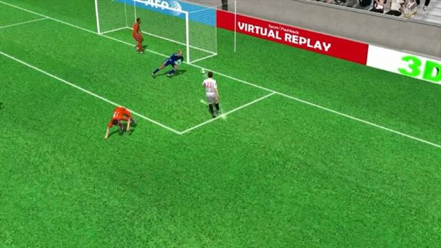 3D goal: Vidal