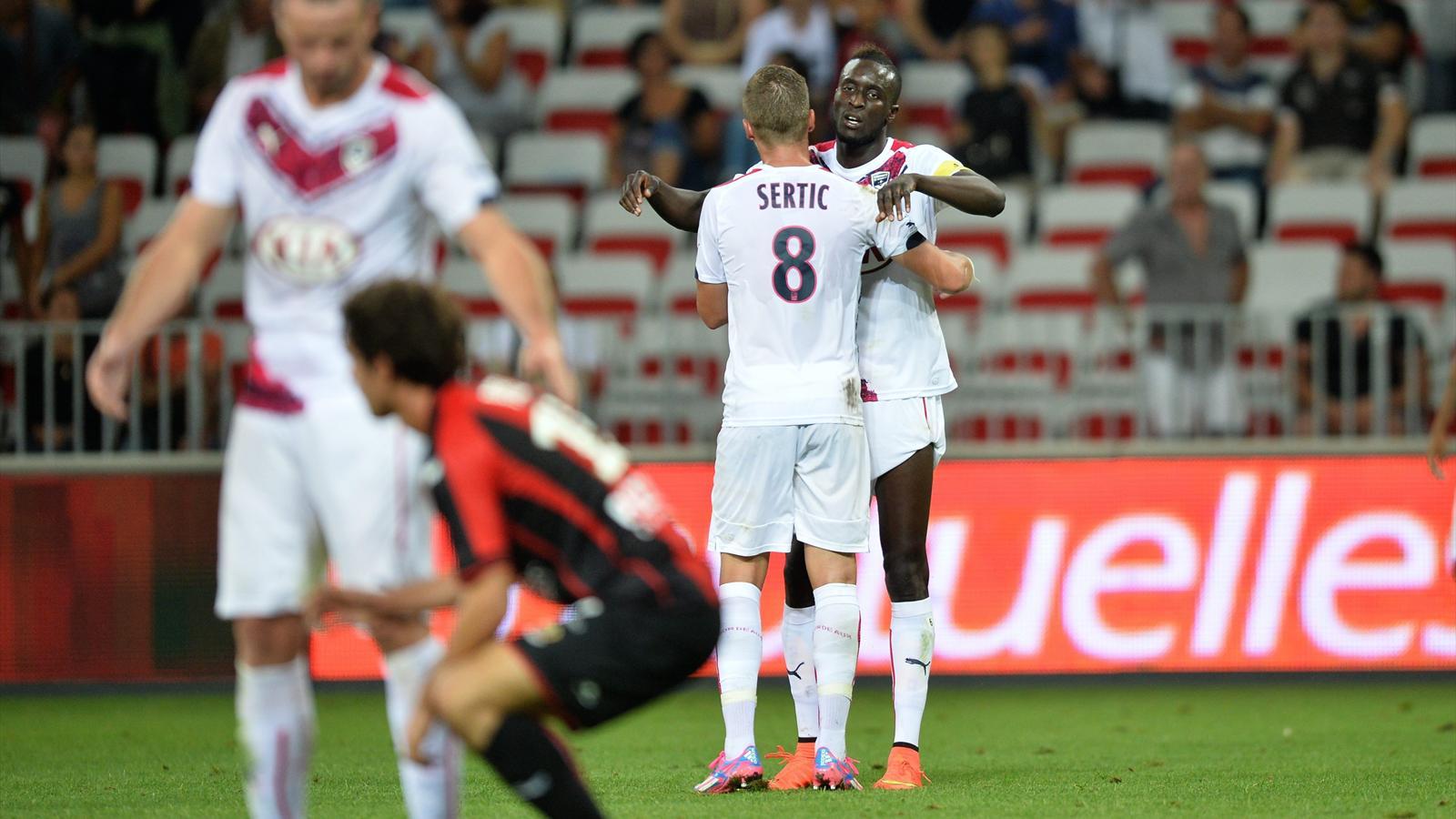 Ligue 1 - 3e journée: Vainqueur à Nice (1-3), Bordeaux file seul en tête