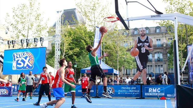 La NBA d�barque � Paris fin ao�t