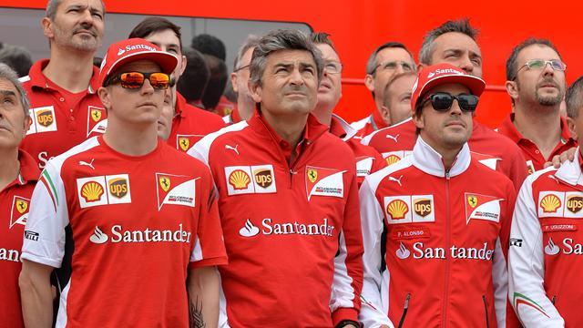 Alonso et Räikkönen toujours chez Ferrari en 2015