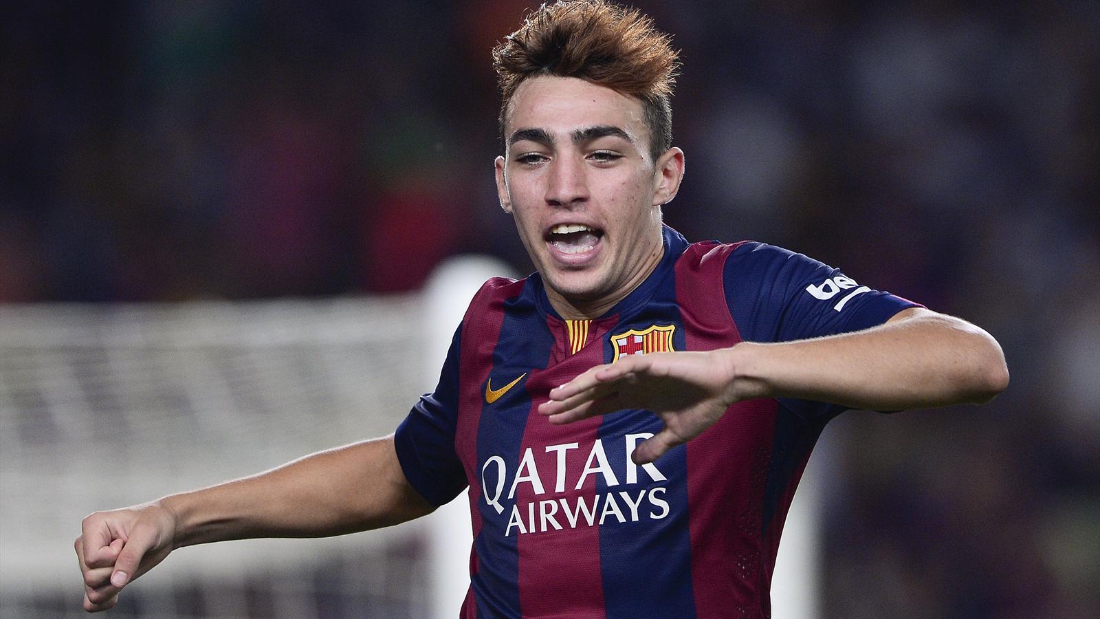 FC Barcelone-Elche (3-0): Munir El Haddadi, buteur et sensation, enflamme le FC Barcelone