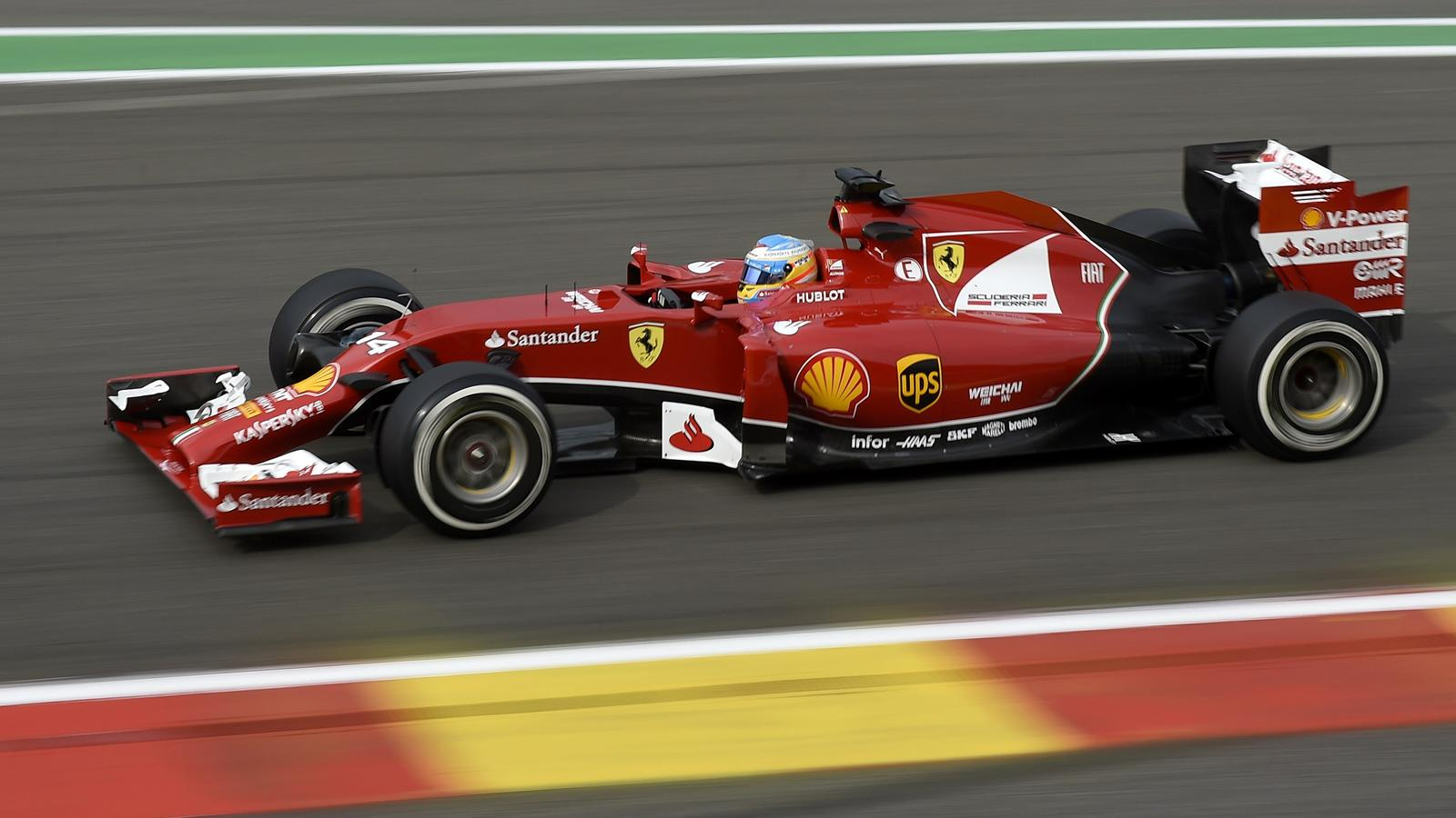 Fernando alonso ferrari septi me le podium tait jouable grand prix de belgique 2014 - Formule vitesse de coupe ...