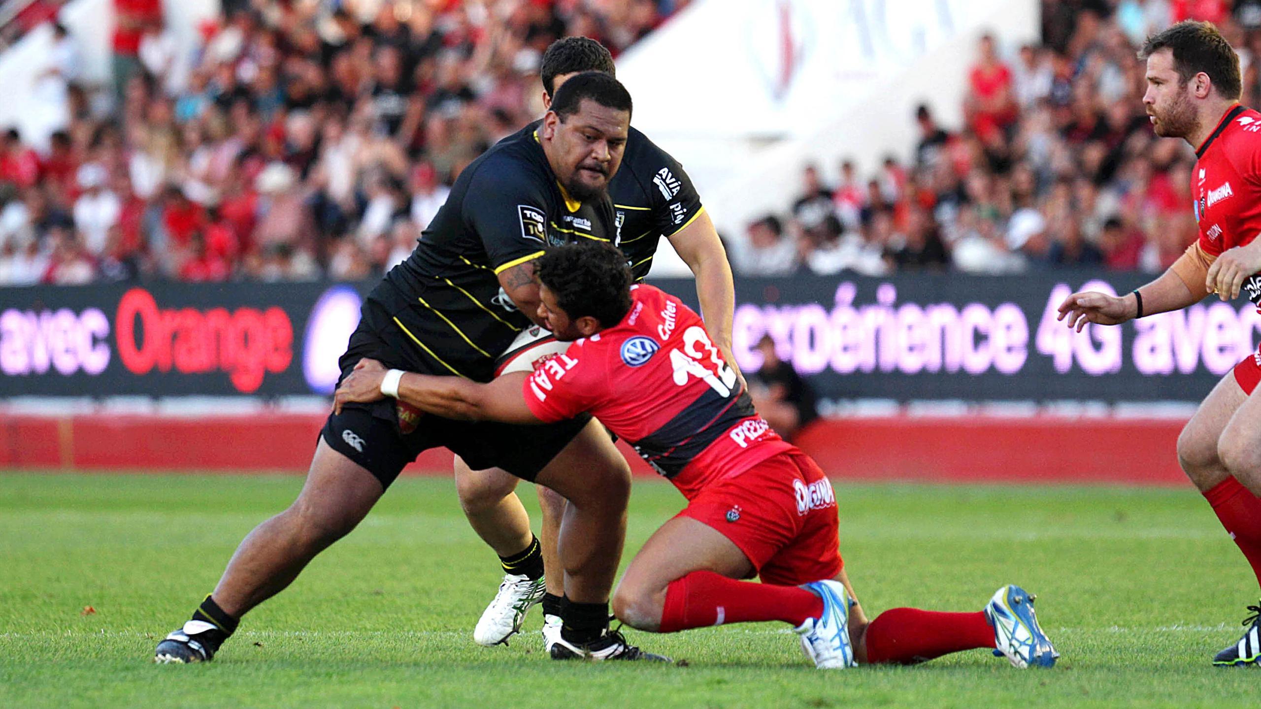 Vincent Pelo (La Rochelle) face à Toulon