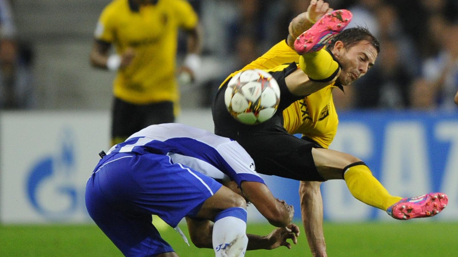 Porto-Lille (2-0): Lille s